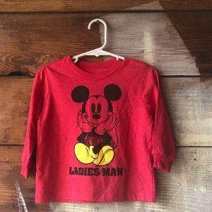 BOGO Disney 18M Ladies Man Micky Mouse Long Sleeve